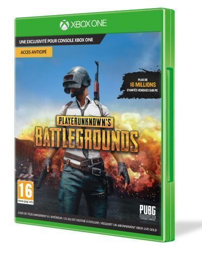 MICROSOFT PlayerUnknown?s Battlegrounds Game Preview Edition