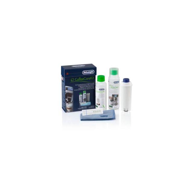 Delonghi 5513283501 Set Dlsc306 Coffeecare - kit d'entretien pour machine expresso