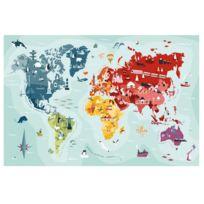 Helvetiq - Puzzle 260 pièces : Carte du monde MyPuzzle Monde