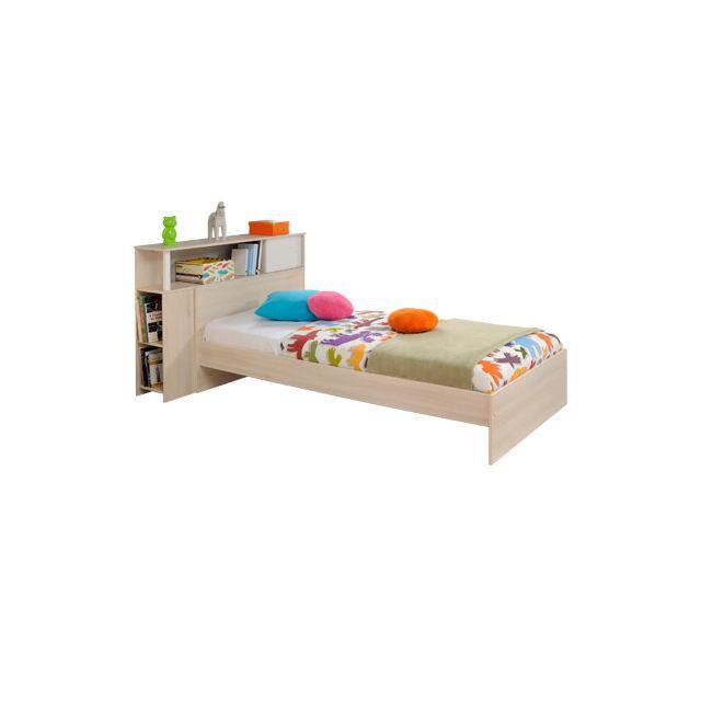 10 sur ensemble lit 90x190cm encadrement lit coloris. Black Bedroom Furniture Sets. Home Design Ideas