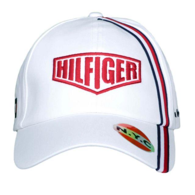Tommy hilfiger - Casquette Racing blanche pour homme Taille unique - pas  cher Achat   Vente Casquettes, bonnets, chapeaux - RueDuCommerce 0642dc6216f