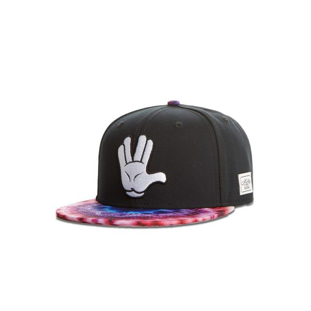 5b00d01618655 Cayler   Sons - Casquette Snapback Stay Fly Mickey Noir - pas cher ...
