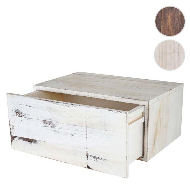 mendler tag re murale dinant avec tiroir 21x46x30cm. Black Bedroom Furniture Sets. Home Design Ideas