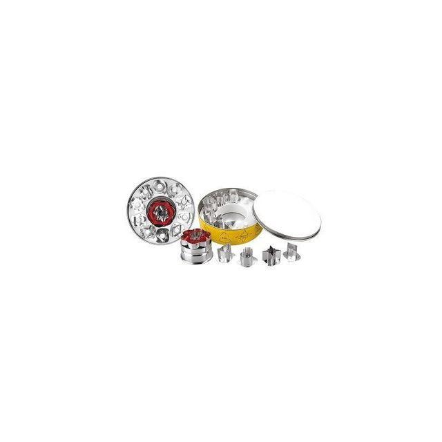 Ibili Set De 11 Coupe-pate Etame Linzer