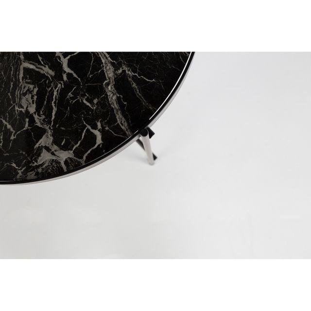 Zuiver - Table basse Cupid Marbre à plateau amovible 0cm x 45cm x 0cm