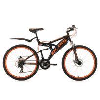 KS CYCLING - VTT tout suspendu 26'' Bliss noir-orange TC 47 cm