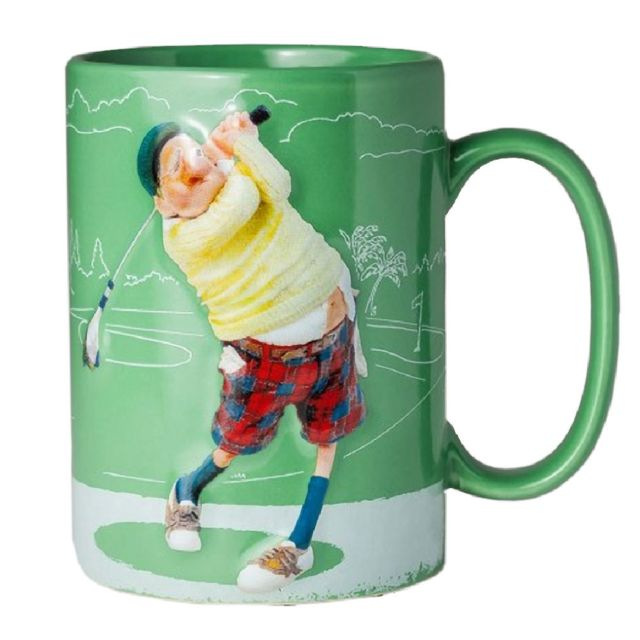 Avenue Of The Stars Grande Tasse de Collection Guillermo Forchino - Le Golfeur