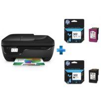 HP - OfficeJet 3831 multifonciton 4 en 1 - Cartouche d'encre origine 302 Noir - Cartouche d'encre origine 302 3 couleurs