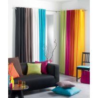 La Maison D'AMELIE - Rideau oeillets 140x260 Panama 100% coton