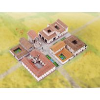 Aue Verlag - Maquette en carton : Ensemble Village Romain
