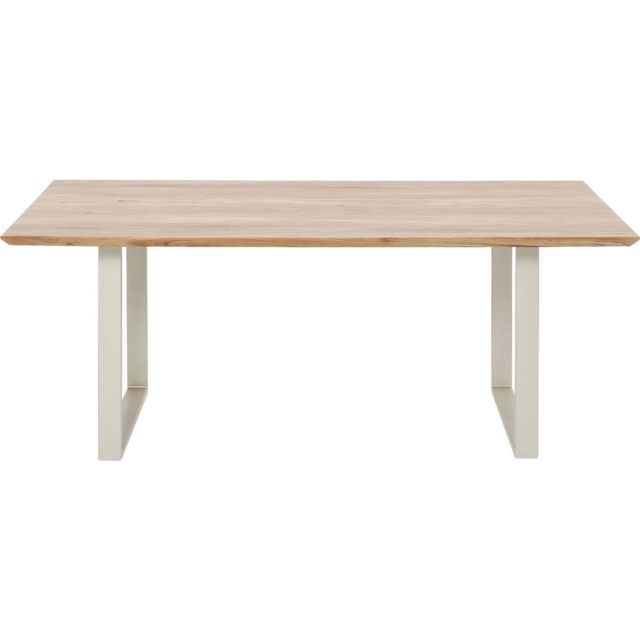 Karedesign Table Symphony acacia argent 200x100cm Kare Design