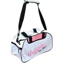 Promobo - Sac De Sport Voyage Weekend Bandouliere Fashion Vintage Usa Rose