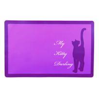 Trixie - Set de table My Kitty Darling pour chats avec motifs