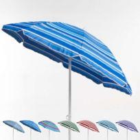 Beachline - Parasol de plage 200 cm portable coton T