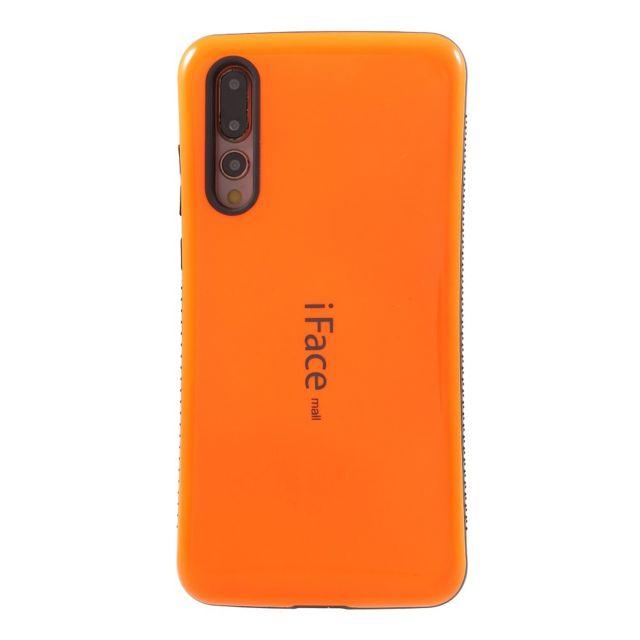 differently exclusive deals arrives Coque en Tpu hybride de fibre de carbone orange pour votre Huawei P20 Pro