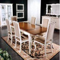Artigiani Veneti Riuniti - Table rectangulaire à rallonges cm 170-220