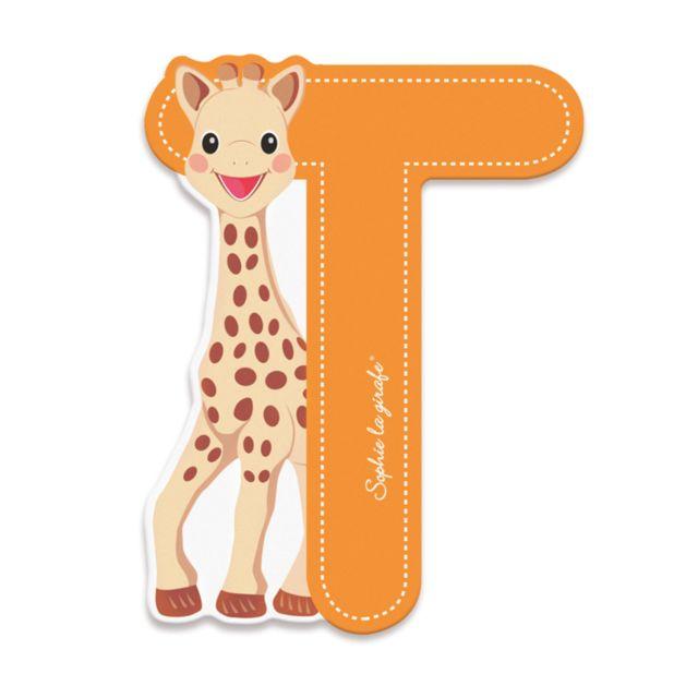 Janod Lettre décorative Sophie la Girafe : T orange