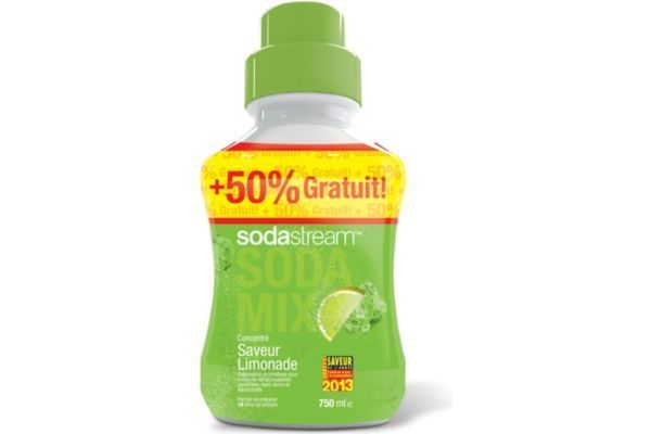 SODASTREAM Concentré limonade 500ml+50%g