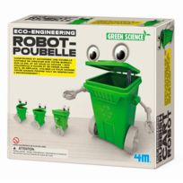 4M - Kidz Labs - Kit de fabrication Green Science : Robot-Poubelle