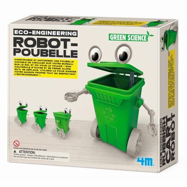 4M - Kidz Labs - Kit de fabrication Green Science : Robot-Poubelle