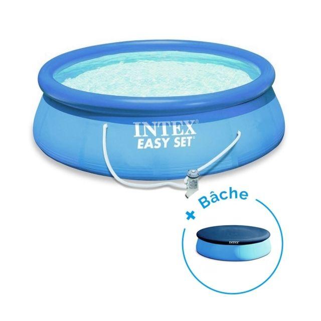 intex pack piscine easy set x m epurateur. Black Bedroom Furniture Sets. Home Design Ideas