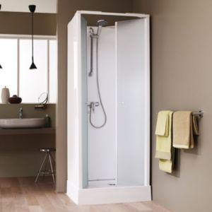 leda cabine de douche surf 4 70x70 cm acc s de face portes battantes pas cher achat. Black Bedroom Furniture Sets. Home Design Ideas