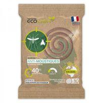 Boutique Nature - Spirales insecticides 100% Naturelles, ecocoil 110 - 10 unités