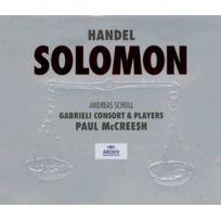Archiv Produktion - Solomon - Coffret De 3 Cd