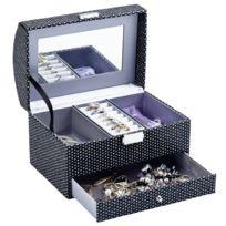 MAISON FUTEE - Boîte à bijoux effet brillant avec strass