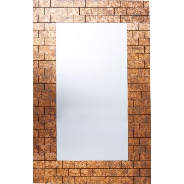 Karedesign Miroir mur de briques 159x102cm Kare Design