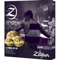 Zildjian - Plz4PK - Pack cymbales 14'' 16'' et 20