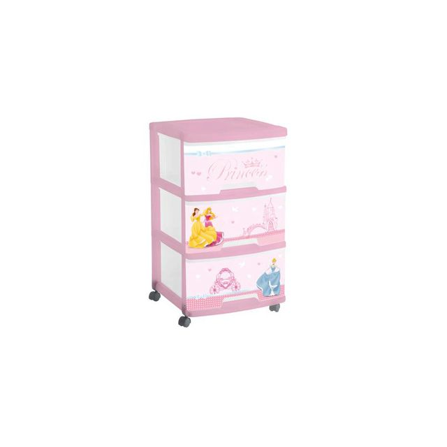Disney Tour De Rangement 3 Tiroirs En Plastique Rose Princess Pas Cher Achat Vente Commode Enfant Rueducommerce