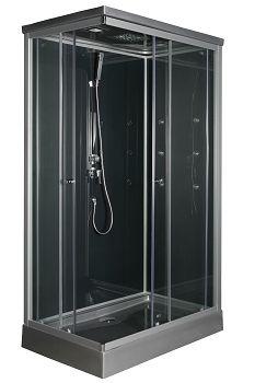 cabine de douche solea 1/4 rond 90 cm