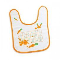 Donkey Products - Bavoir avec grille de bingo et carottes