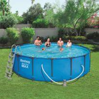 39ea6520b5434 BESTWAY - Ensemble de piscine Steel Pro Max Rond 457x122 cm 56438