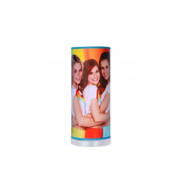 Lucide K3 - Lampe De Table Chambres d'enfant - D15 cm - Led - Multicolor