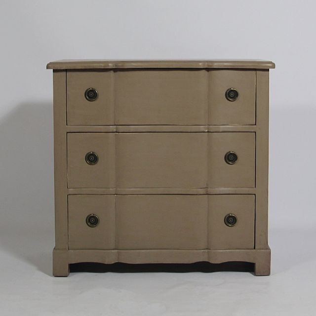 Made In Meubles Commode tombeau 3 tiroirs Baroque   réf. Srt3T-Brown