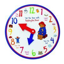 Paddington Bear - Paddington Learn to Tell The Time Wooden Clock