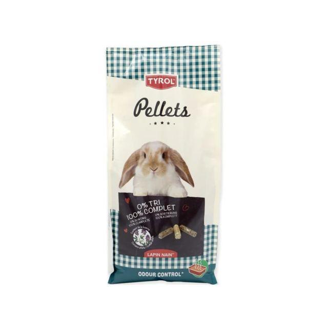 Tyrol Aliment complet Premium en granulés - Pour lapin nain - 2,5 kg