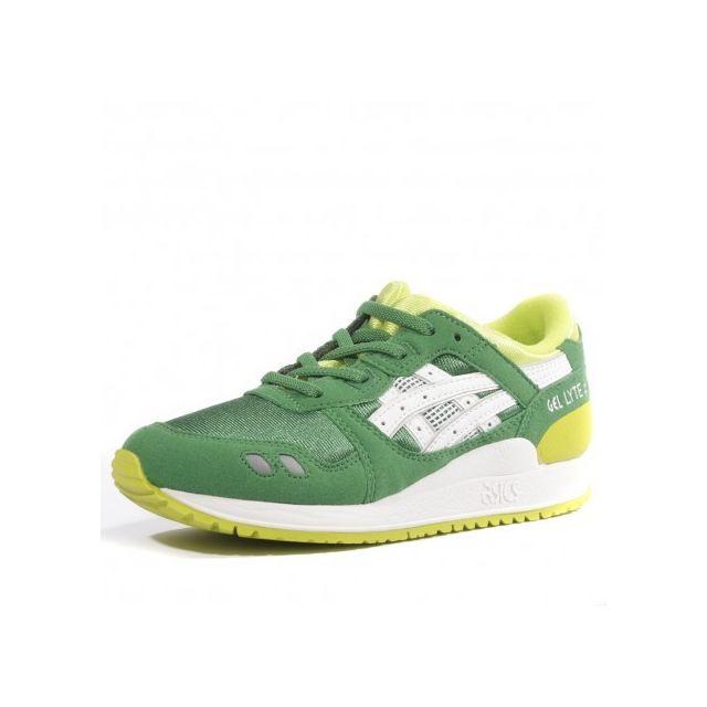 Asics Chaussures Vert Cher Iii Gel Pas Lyte Achat Garçon Ps HX7XrxP
