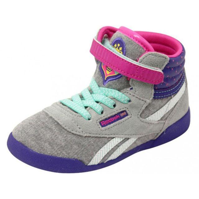 0446185046e8b Reebok - Sofia F S Bb Gri - Chaussures Bébé Fille Gris 20 - pas cher ...