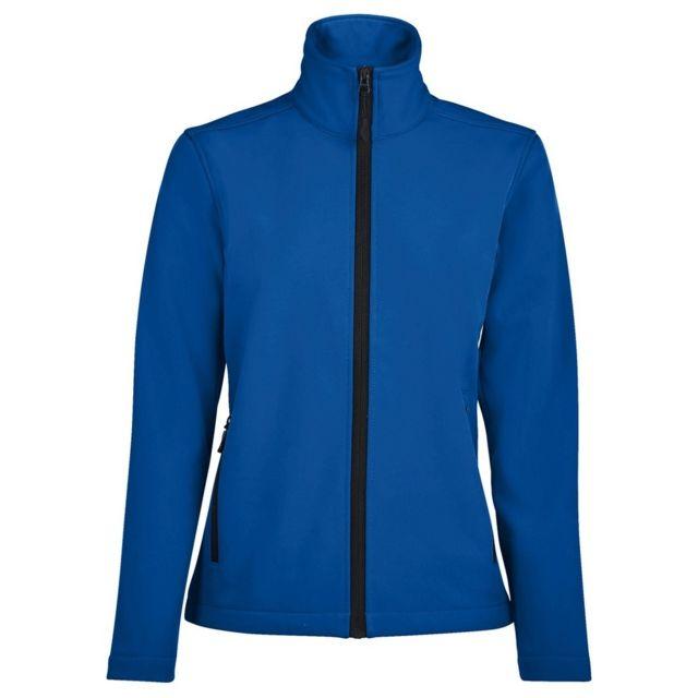 SOL Sols - Veste softshell Race - Femme XL, Bleu roi Utpc2426