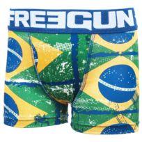 Freegun - Sous vêtement boxer Dc bleu/blc boxer jr Bleu 28144