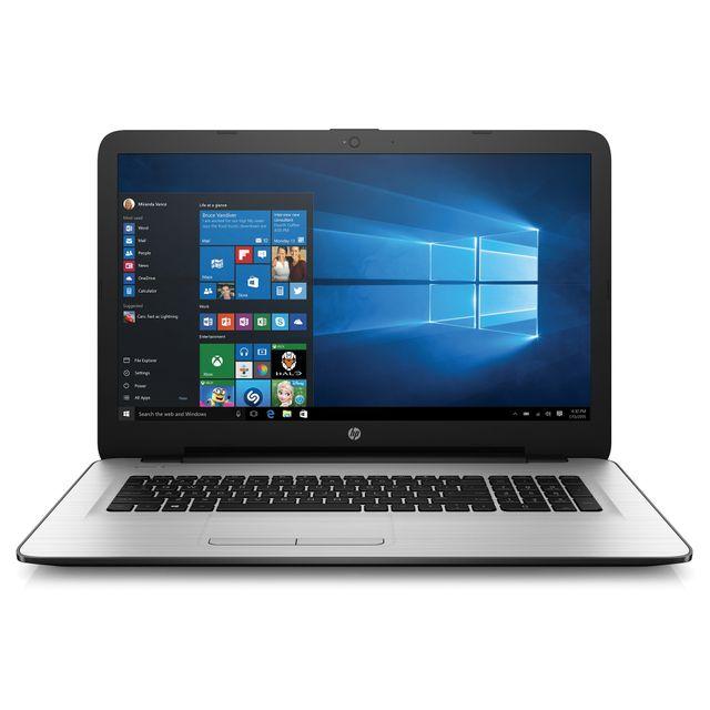 HP - 17-X010NF - Blanc
