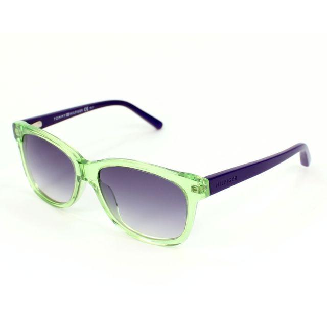 8bd9ddca2eee2a Tommy hilfiger - Th-1073-S W1Z DG Vert - Violet - Lunettes