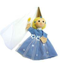 Le Coin Des Enfants - Marionnette à main Fée bleue