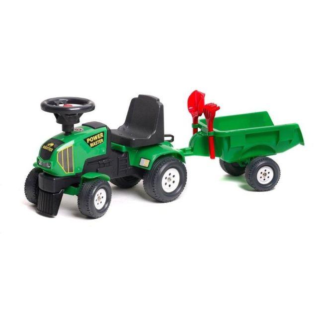 FALK Porteur tracteur avec remorque - POWER MASTER - 1014C Porteur tracteur avec remorque - POWER MASTER - 1014C