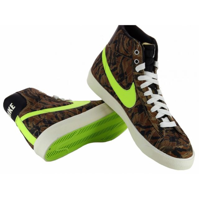 Nike - Basket Blazer Mid 77 Premium Vintage - 537327-300 Marron - 38 1/2