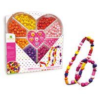 Au Sycomore - Boite créative coeur : Perles en bois