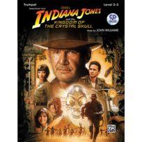 Alfred Publishing - Partitions Variété, Pop, Rock. Williams John - Indiana Jones - Crystal Skull + Cd - Trumpet And Piano Vents